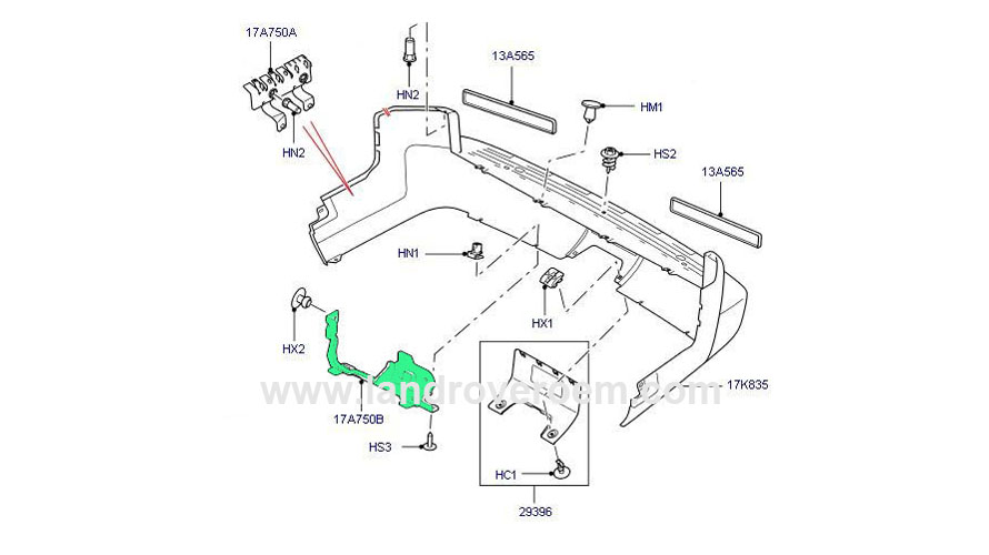 land rover defender parts catalogue