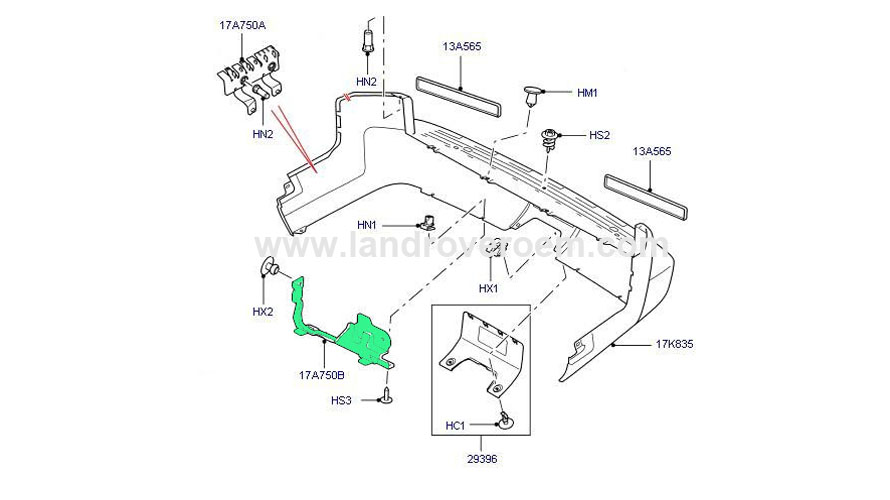 land rover parts wholesaler