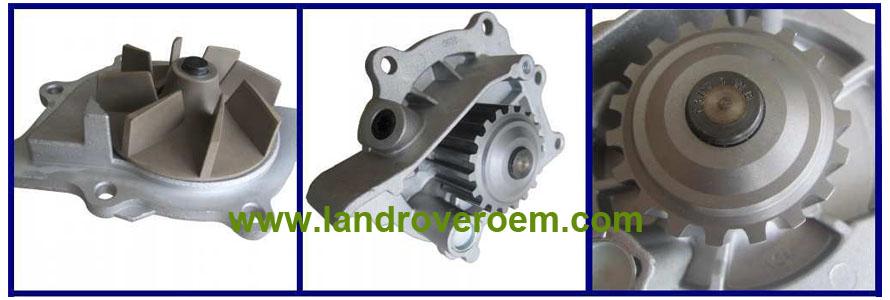LR011694 land rover water pump