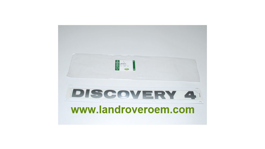 Land Rover Discovery 4 Rear Name Plate