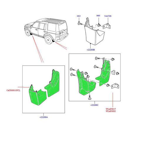 Land Rover Mudguard