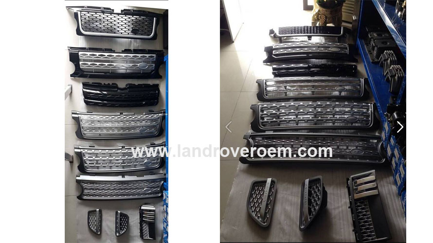 Land Rover grill supplier