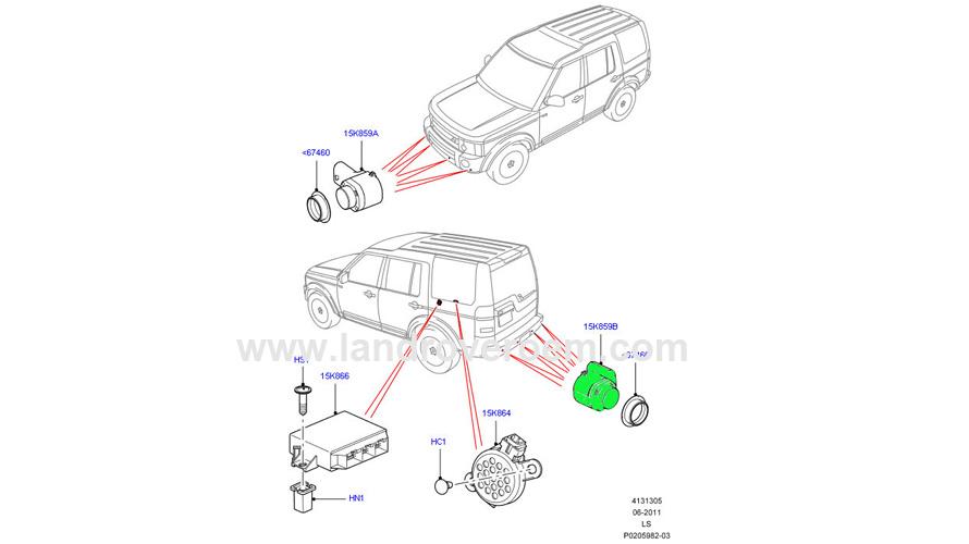 Parking Gaid System Sensor