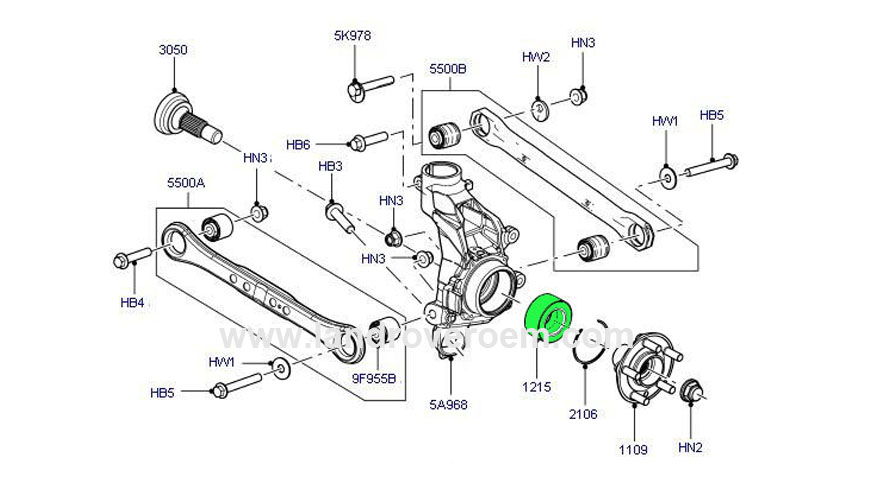 2015 range rover evoque parts diagram