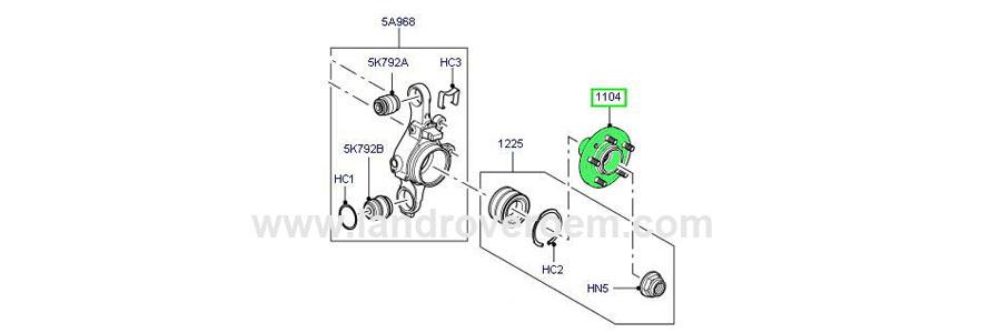 Wheel hub ..