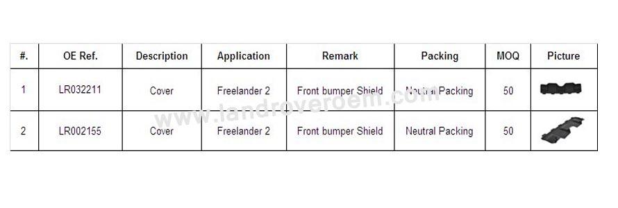 freelander2 cover
