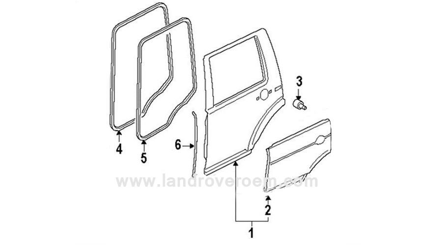 rover door accessories