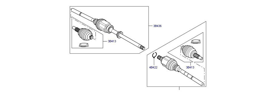shaft and cv -joint..