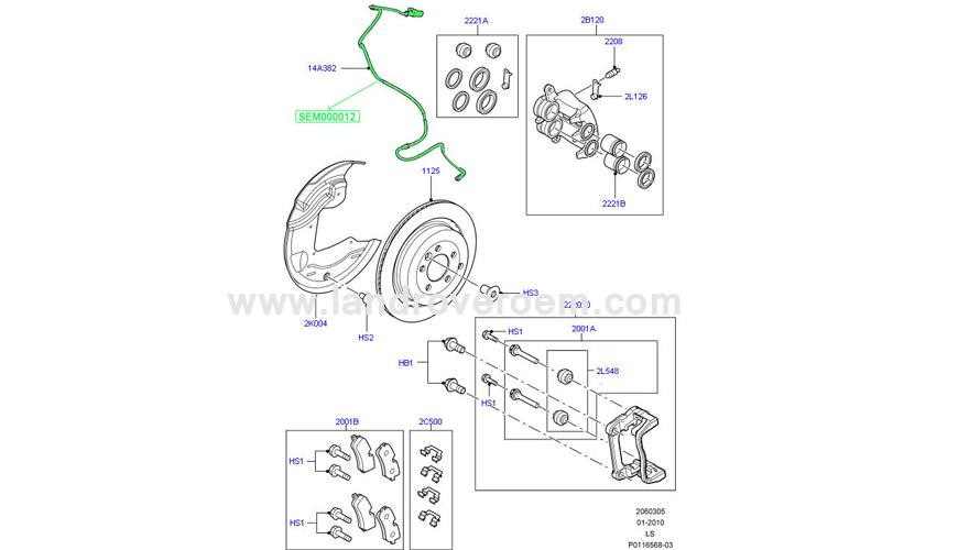 Brake Pad Sensor