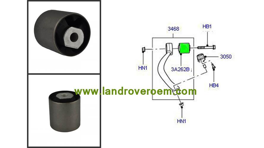 Control Arm Bushing LR018345 RBX000200